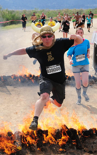 Warrior Dash - Our Fearless Leader
