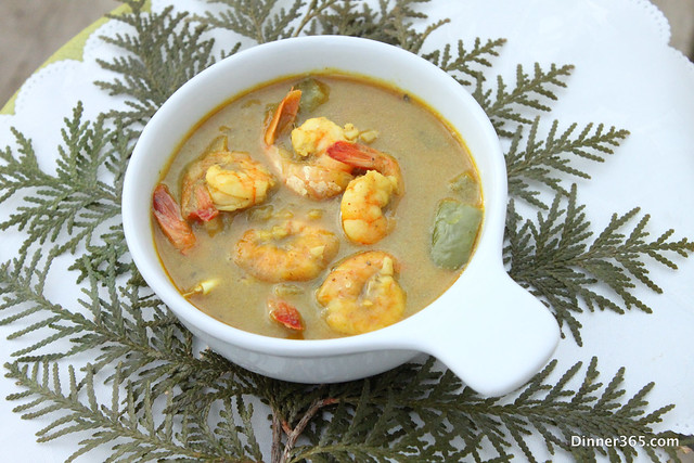 Day 97 - Cilantro Shrimp Curry