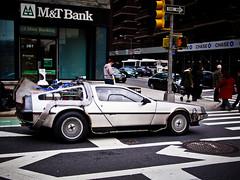 097/365 - April 7, 2011 - Great Scott (Shane Woodall) Tags: newyork car manhattan april 365 delorean backtothefuture timemachine 2011 project365 mrfusion olympusepl1 3652011 shanewoodallphotography