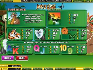 free Jungle King slot mini symbol