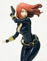 Figura Marvel Black Widow Bishoujo (Acero y Magia) Tags: blackwidow marvel kotobukiya figura bishoujo viudanegra