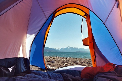 Tent View by Ben Christenson, on Flickr
