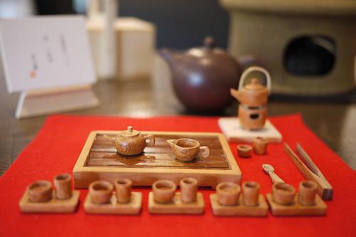中国茶のミニチュアセット