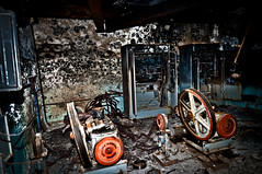 Top room of hotel... (Livexplore) Tags: city school urban abandoned rotting hotel fairground decay rusty radiation nuclear ring explore disaster sarcophagus radioactive boxing administration derelict crusty chernobyl urbex pripyat