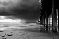 20110408-IMG_0565 (petermcottle) Tags: ocean california sky beach night la pier san university waves diego institute blacks uc shores jolla ucsd scripps oceanography