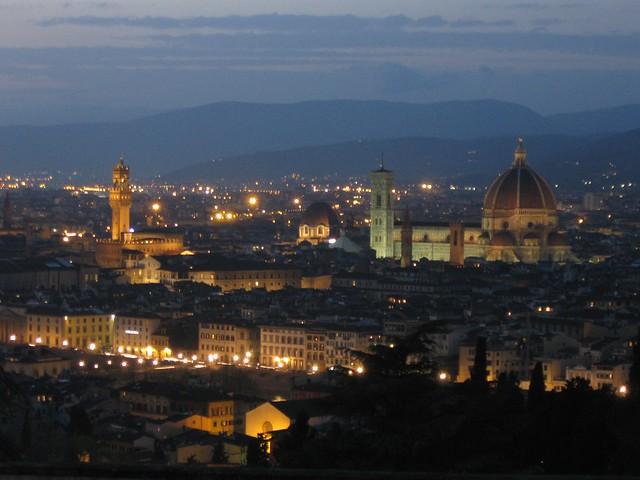 Palazzo Vecchio y Duomo