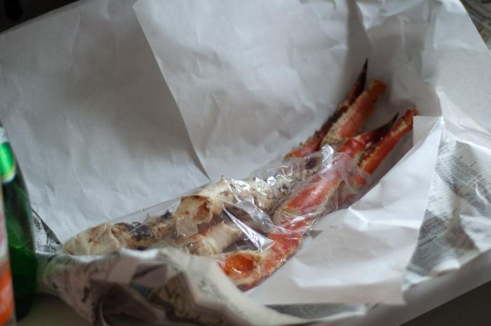 King Crab legs.