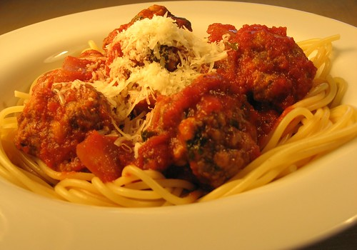 spaghetti and meatballs 015
