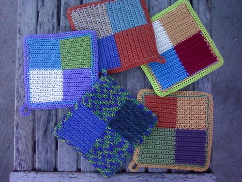 Potholder Swap 2011(back side)