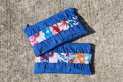 Innocent Crush Zipper Pouches