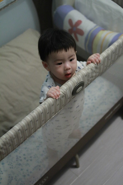 Baby Marcus 7 Month - Standing with lips support :D