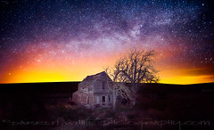 Milky Way over the Ghost House (Darren White Photography) Tags: nightphotography lightpainting abandoned historic hauntedhouse milkyway oreogn forgotton nightpainting earthandspace darrenwhite historicoregon darrenwhitephotography bestnewcomer oregonstockphotography competition:astrophoto=2011 lostoregon