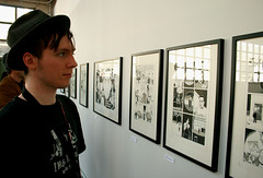Dan Clowes at Fumetto 2011 II (FumettoBlog) Tags: comics luzern lucerne danclowes danielclowes fumetto 2011 rmf nurvuss robertmfenner
