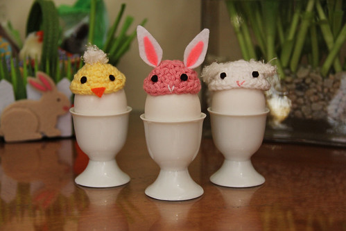 DIY Kawaii Egg Capps