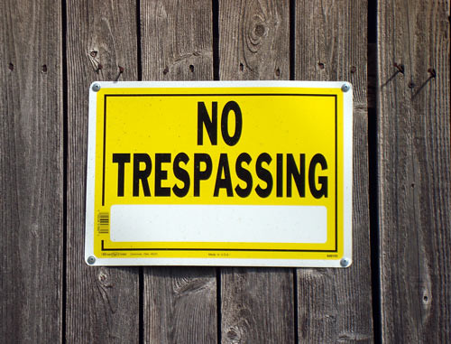 north-lawrence-no-trespassing