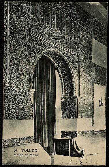 Casa de Mesa a principios del siglo XX. Foto HAE