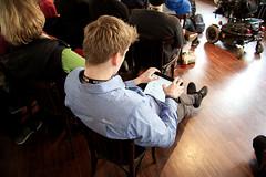 Keine Konferenz ohne iPad