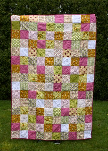 first quilt (front)