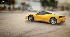 Keep Drifting | Ferrari 458 Italia (Tareq Abuhajjaj | Photography & Design) Tags: keep drifting ferrari 458 italia drift tareq tareqdesign tareqdesigncom  white     top tareqmoon sport speed saudi riyadh rims photography power red design fast flickr gear high photo nikon nice moon ksa arabia d700 car black abuhajjaj 2010  dark race           yellow sky big fiber lights light orange manual foilacar bw carbon 070 wheels v8  cars