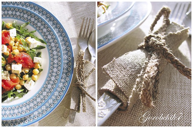 кол. салат с нутом