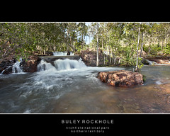 Buley Rockhole (Louise Denton) Tags: blue red summer sun motion colour green nature water pool rock swimming waterfall nationalpark bright nt vibrant darwin le tropical np waterhole northernterritory rockpool odc batchelor florencefalls 3colours naturalpool buleyrockhole odc2 lictchfield ourdailychallenge