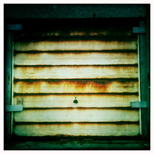 Garage Door by the Sea