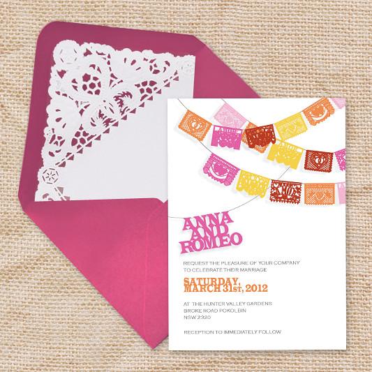 doily envelope liner