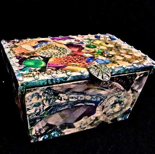 Precious Jewels Collage Box