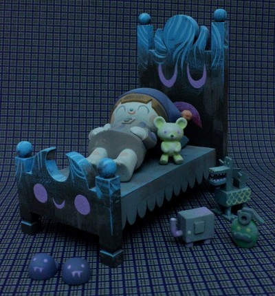 Itokin Park x Amanda Visell Nightmare Bed Monster