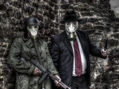 Clophill Atrocities (Neil Fellowes) Tags: nazi horror hdr badtaste questionable mrbrown poortaste neilfellowes propshots manof2worlds urbexhorror