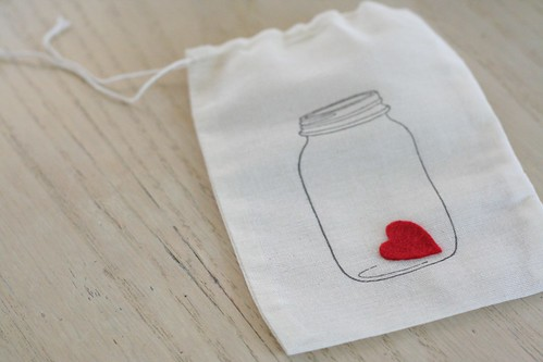 love in a jar goodie bags.