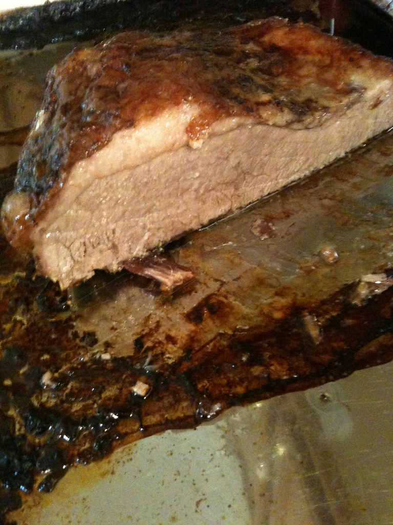 Beef Brisket from the oven