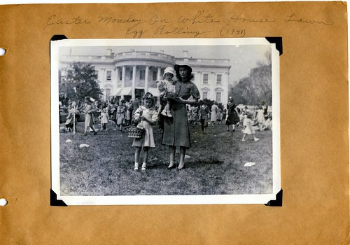 Easter Monday on the White House Lawn - 1941