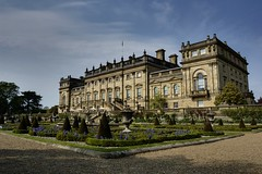Harewood House (colour) (Ben (Falcifer)) Tags: terrace harewoodhouse harewood