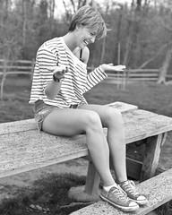 bri (Dan Landoni) Tags: urban blackandwhite rain canon bench eos 50mm model shoes pittsburgh mud outdoor lifestyle dirt converse rainstorm 5d raining chucktaylor sewickley f12 jeanshorts lseries muddyshoes 50mmf12l sewickleyheights 5dmarkii 5dii danlandoni shorthairmodel
