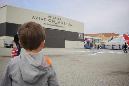 at the hiller aviation museum