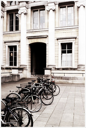 Bicycles Outside the Ashmolean