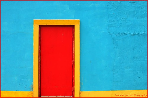 Colorful Doorway, The Red Door #2 by Jongarrett777