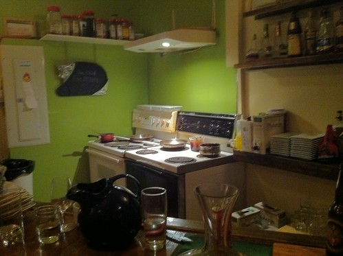 The kitchen at L'affaire est ketchup