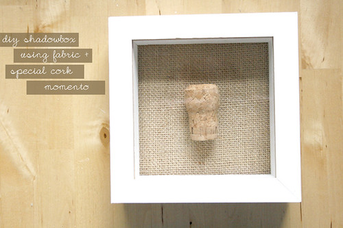 DIY cork shadowbox 6