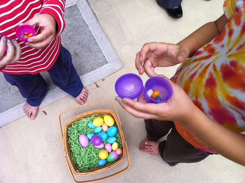 post egg hunt