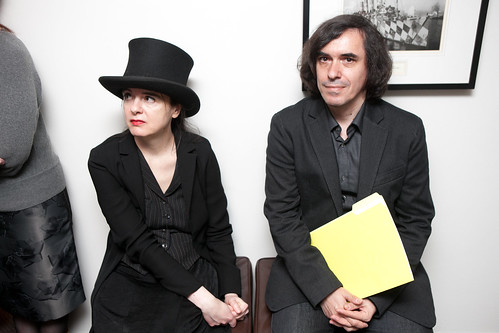 Amélie Nothomb & Mircea Cărtărescu by PEN American Center