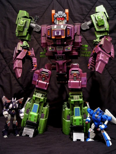 Custom Masterpiece Scorponok
