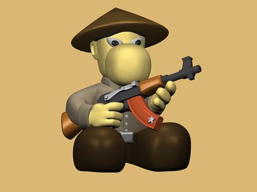 W.I.P. - Narizón soldado de la unidad Li