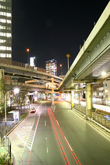 Tanimachi Junction - 15 (Kabacchi) Tags: night tokyo highway  nightview expressway  interchange      jct tanimachijunction ~tanimachijunction~