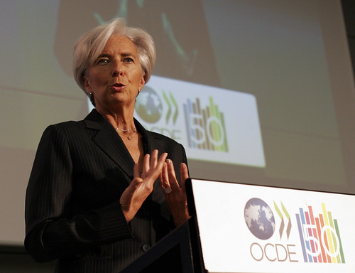 Christine Lagarde, French Minister of Finance