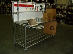 Wharehouse Rolling Cart