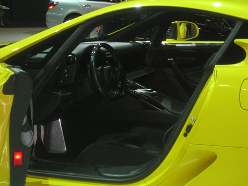 Yellow Lexus LFA