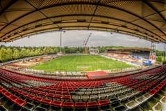 Fussball Stadion Bieberer Berg Offenbach! (Batram) Tags: berg hessen bank stadion offenbach ofc kickers sparda bieberer