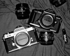camera slr 35mm pentax pentaxk1000 vivitar pentaxkm vivitarv3800n